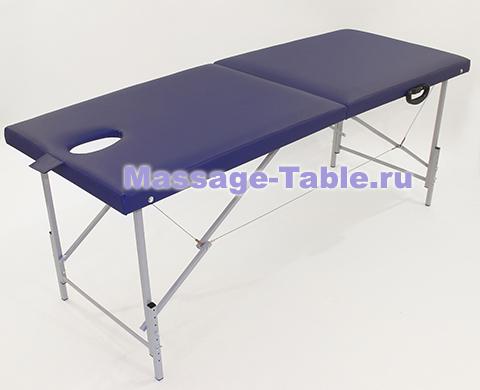 Массажный стол МЛ.6 металлический с регулировкой высоты